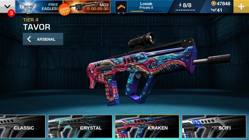 GUN Sniper war on terror APK MOD imagen 3