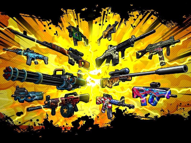 GUN Sniper war on terror APK MOD imagen 4