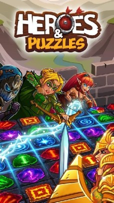 Heroes and Puzzles APK MOD imagen 1