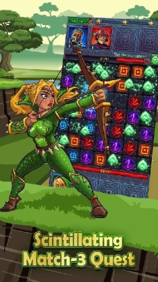 Heroes and Puzzles APK MOD imagen 2