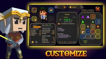King of Raids Magic Dungeons APK MOD imagen 3