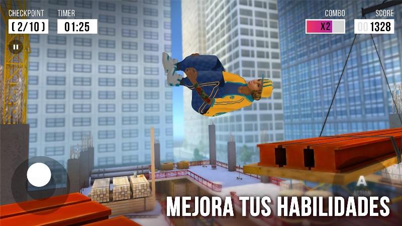 Parkour Simulator 3D APK MOD imagen 3