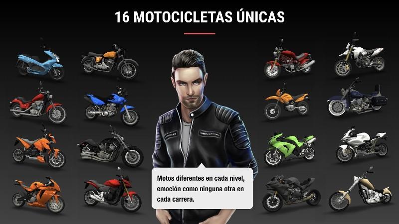 Racing Fever Moto APK MOD imagen 2