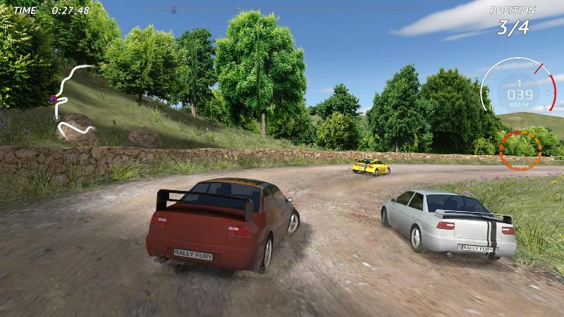 Rally Fury - Extreme Racing APK MOD imagen 2