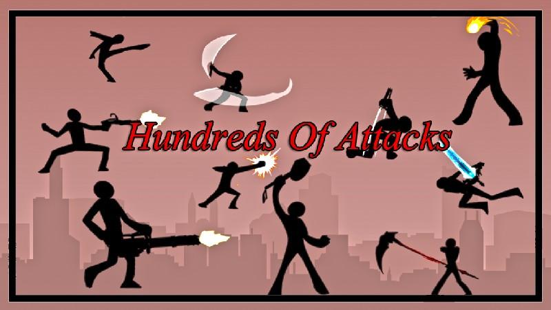 Revenge Of Stickman Warriors APK MOD imagen 2