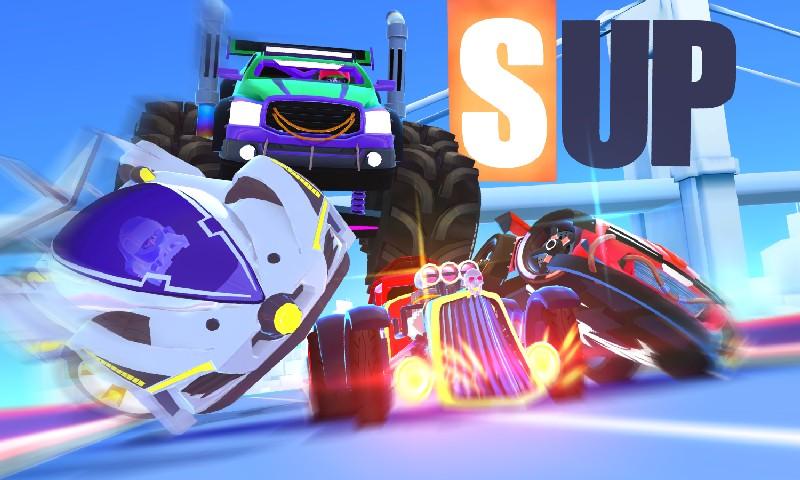 SUP Multiplayer Racing APK MOD imagen 1