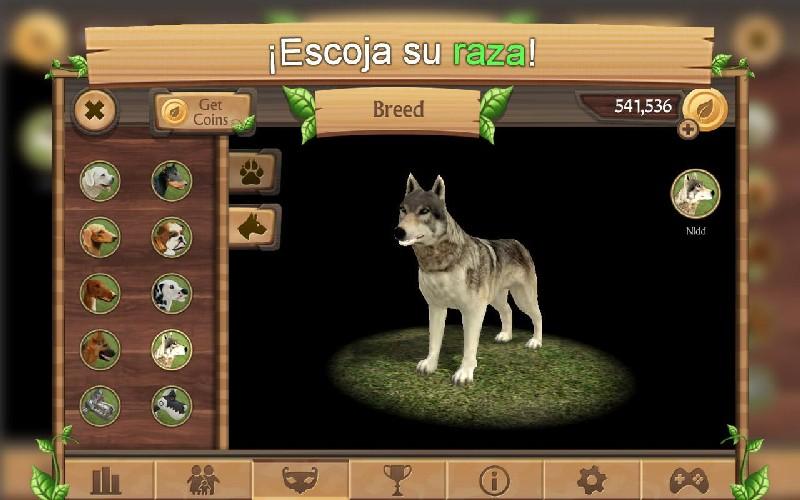 Simulador de Perro Online APK MOD imagen 2