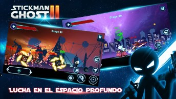 Stickman Ghost 2 Galaxy Wars APK MOD imagen 1