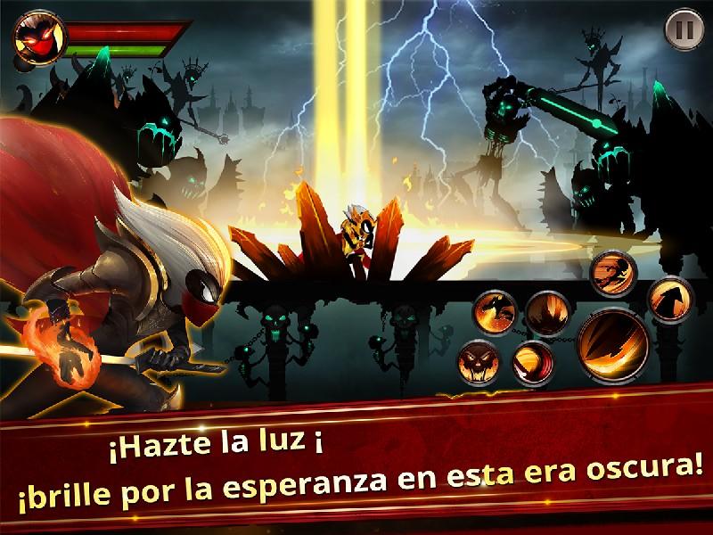 Stickman Legends - Ninja Warriors Shadow War APK MOD imagen 1