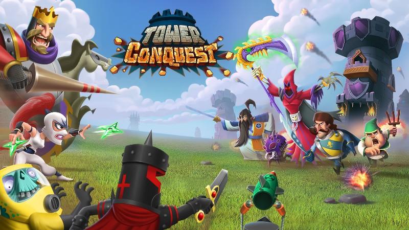 Tower Conquest APK MOD imagen 1