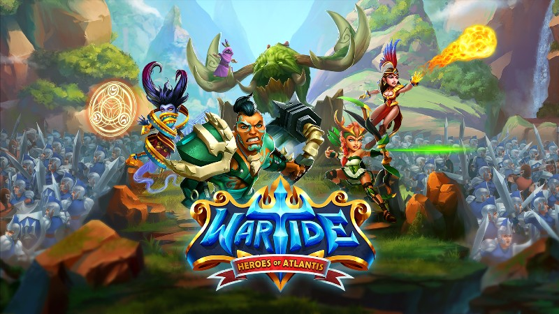 Wartide: Heroes of Atlantis APK MOD imagen 1