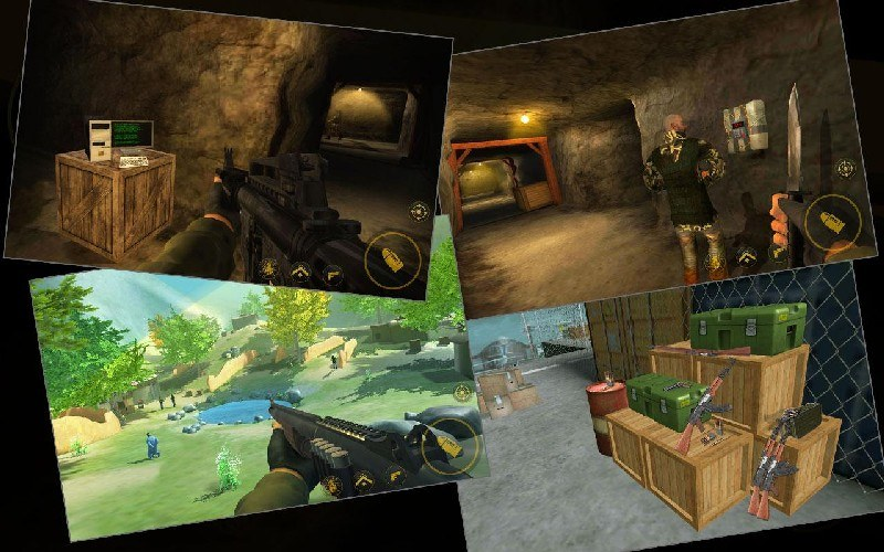 Yalghaar Action FPS Shooting Game APK MOD imagen 4