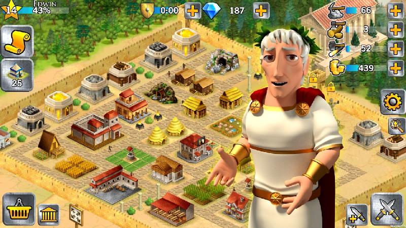 Battle Empire Rome War Game APK MOD imagen 2