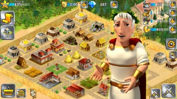 Battle Empire Rome War Game APK MOD imagen 2