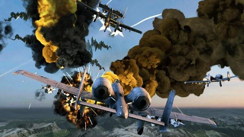 Call of Infinite Air Warfare APK MOD imagen 1