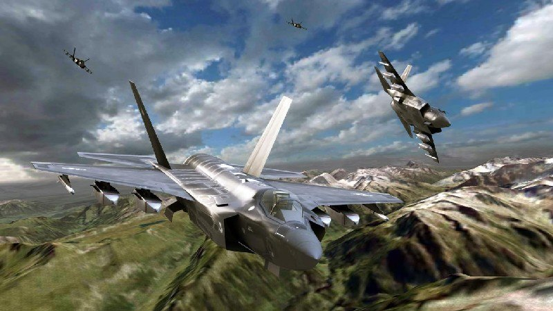 Call of Infinite Air Warfare APK MOD imagen 4