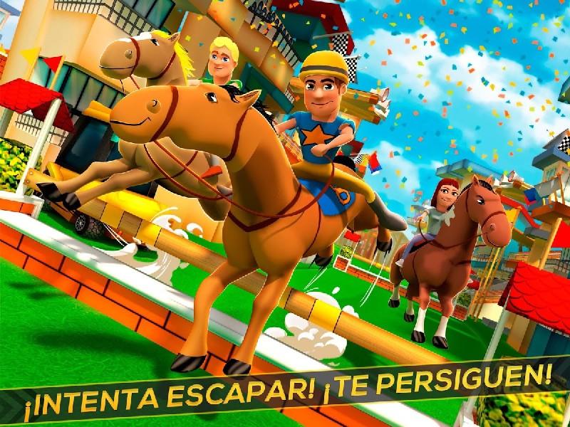 Cartoon Horse Riding Game APK MOD imagen 4