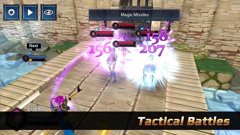 Chrono Clash APK MOD imagen 1