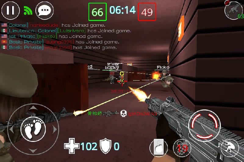 Critical Strikers Online FPS APK MOD imagen 1