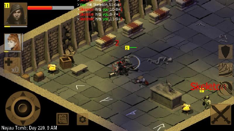 Exiled Kingdoms RPG APK MOD imagen 1