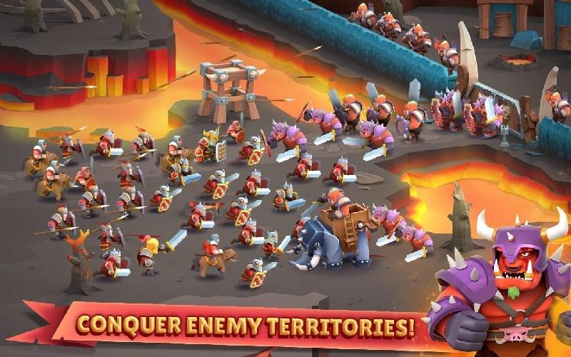 Game of Warriors APK MOD imagen 3