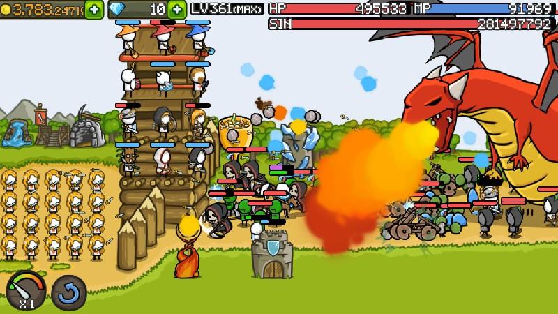 Grow Castle APK MOD imagen 3