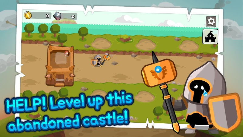 Grow Tower: Castle Defender TD imagen 1