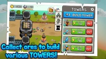 Grow Tower: Castle Defender TD imagen 4