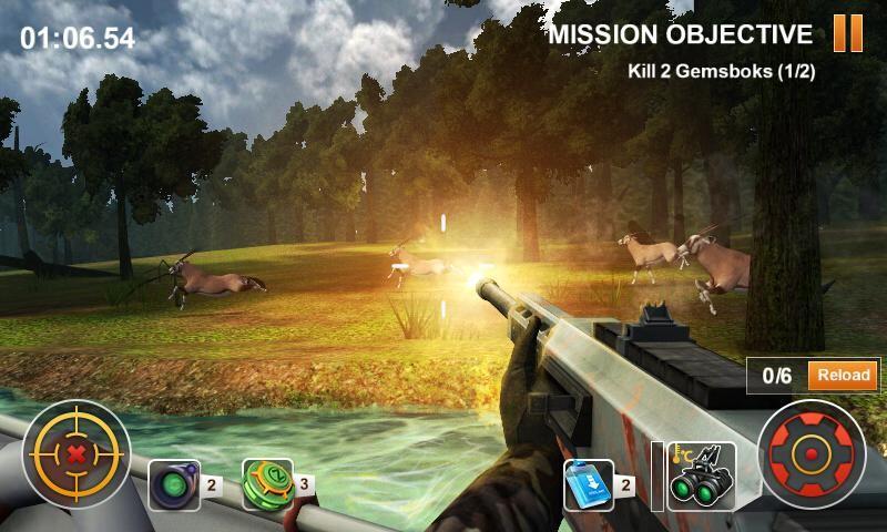 Hunting Safari 3D APK MOD imagen 2