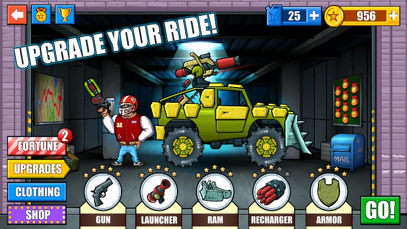 Mad Day - Truck Distance Game APK MOD imagen 1