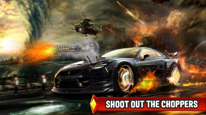 Mad Death Race: Max Road Rage APK MOD imagen 3