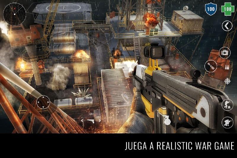 MazeMilitia LAN, Online Multiplayer Shooting Game APK MOD imagen 1