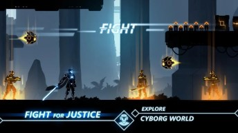 Overdrive - Ninja Shadow Revenge APK MOD imagen 1