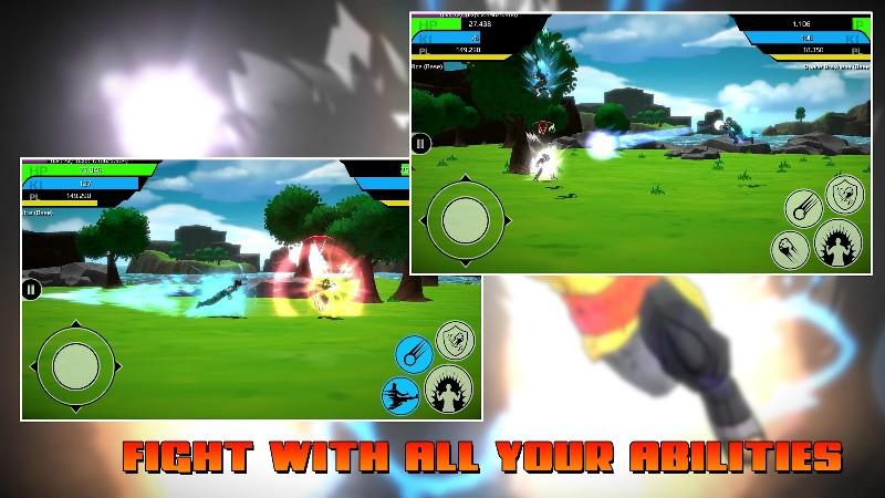 The Final Power Level Warrior APK MOD imagen 2