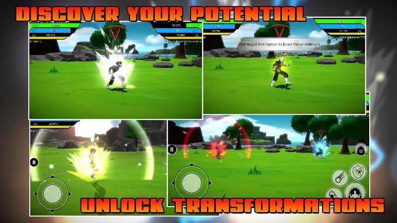 The Final Power Level Warrior APK MOD imagen 3