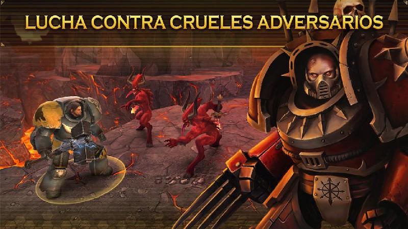 Warhammer 40,000 Space Wolf APK MOD imagen 5