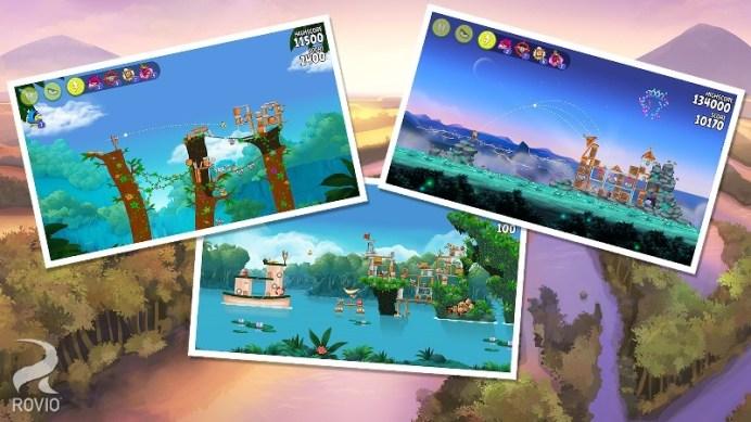 Angry Birds Rio APK MOD imagen 5