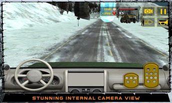 Army War Truck Driver Sim 3D APK MOD imagen 3