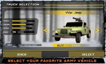 Army War Truck Driver Sim 3D APK MOD imagen 4