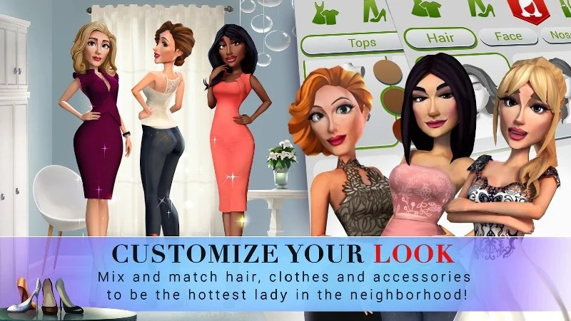 Desperate Housewives The Game APK MOD imagen 4