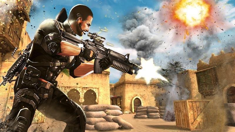 Elite Killer SWAT APK MOD imagen 3