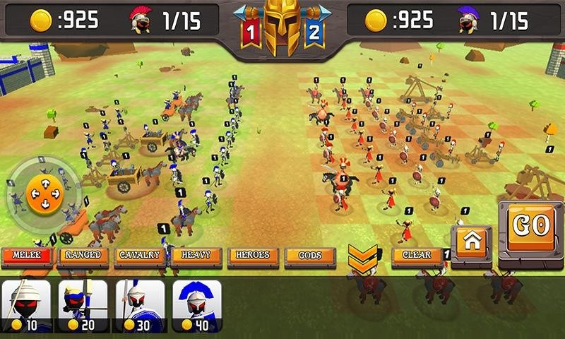 Greek Warriors Castle Defence APK MOD imagen 2