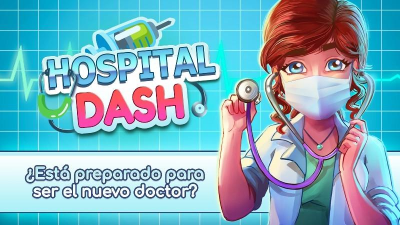 Hospital Dash - Simulator Game APK MOD imagen 1