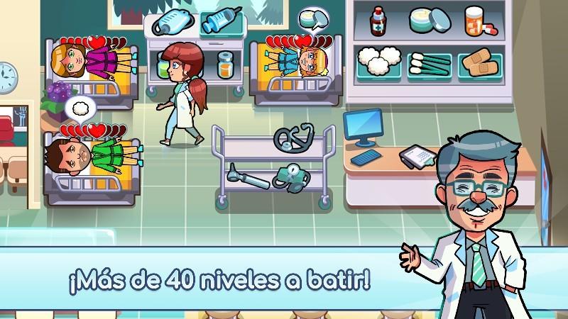 Hospital Dash - Simulator Game APK MOD imagen 5