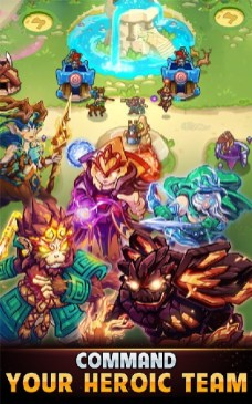 Kingdom Defense Hero Legend TD (Tower Defense) APK MOD imagen 2
