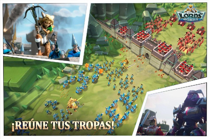 Lords Mobile APK MOD imagen 2