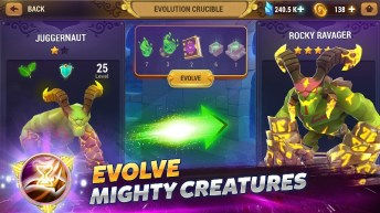 Might & Magic Elemental Guardians APK MOD imagen 2