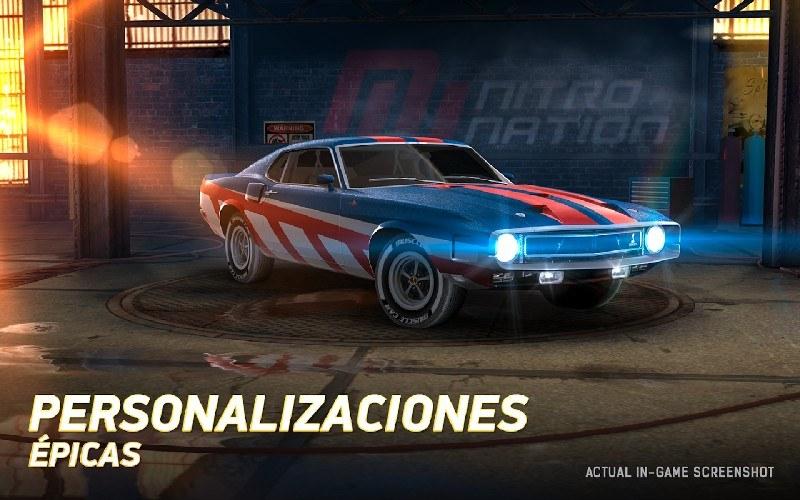 Nitro Nation Drag Racing APK MOD imagen 4