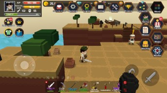 Pocket World Island of Adventure APK MOD imagen 1