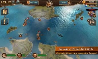 Ships of Battle Age of Pirates APK MOD imagen 3